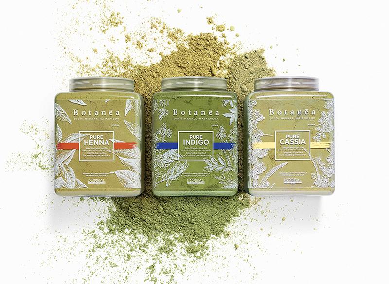 Gamme végétale L'Oréal Botanéa