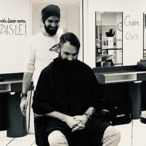 Entretien pilo-facial sur barbe longue