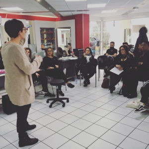 Intervention recrutement Nantes Académie Coiffure